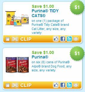 Purina dm cat food coupons
