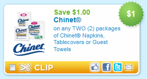 Free coupons paper products