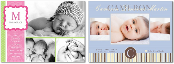 10 FREE Baby Announcements – Walgreens Birth Announcements