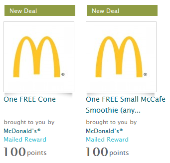 graphic relating to Ice Cream Coupons Printable named No cost McDonalds Ice Product or Smoothie!