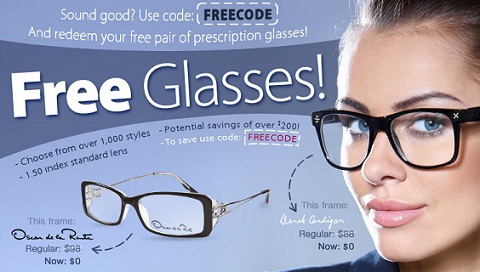 FREE Eye Glass Frames = Cheap Glasses!