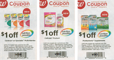 Caltrate coupons