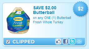 It is a graphic of Hilaire Butterball Coupons Turkey Printable