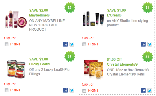 new coupons renuzit garnier maybelline more. Black Bedroom Furniture Sets. Home Design Ideas