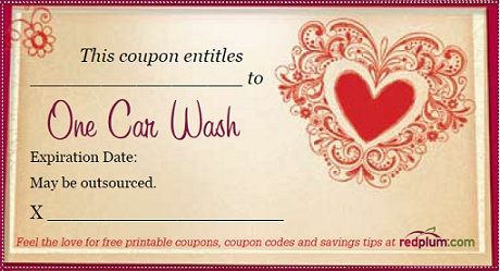 Cute Valentines Day Coupons As Gifts – Valentines Day Coupon