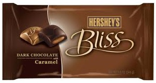 Hershey's Bliss Dark Chocolate with Caramel