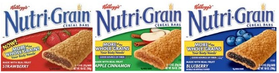 Kellogg's Nutri-Grain Bars Coupon