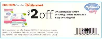 Free Hyland S Teething Gel At Walgreens
