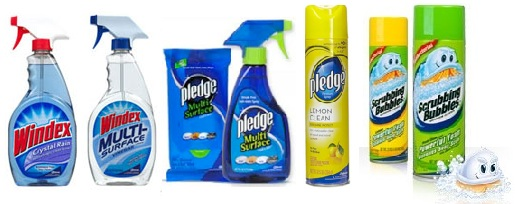 Windex, Pledge coupons