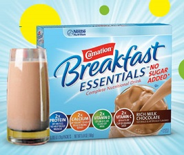 Carnation Breakfast Essentials