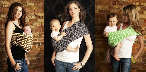 Baby Wrap Ergo Carrier Sling - by Sleepy Wrap - Available in 2 Colors - Baby Sling, Baby Carrier Wrap, Cuddle Up Baby Wrap - Specialized Baby Slings and Wraps for Infants and Newborn (Dark Grey).