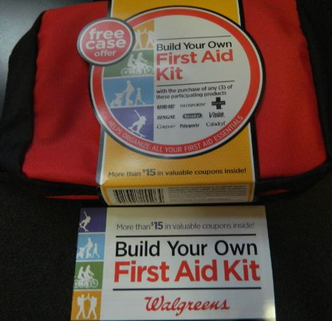 Build your own emergency medical kit