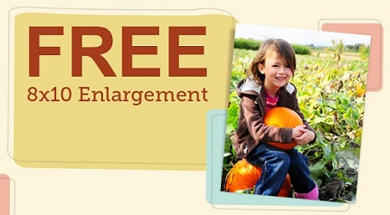 Free 8x10 at Walgreens 2012