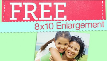 FREE 8x10 Walgreens Mother's Day