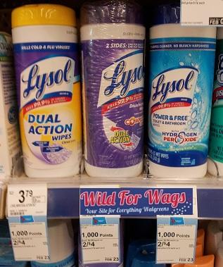 Lysol Walgreens Deal