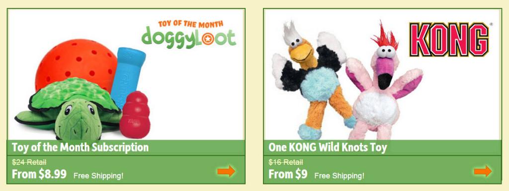 DoggyLoot Toys