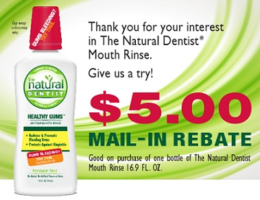 Natural Dentist Rebates