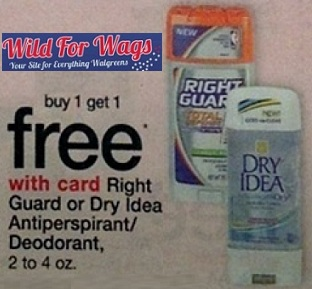Right Guard coupons 1