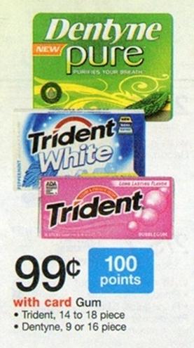 Dentyne Gum Sale (Wags 4-14)