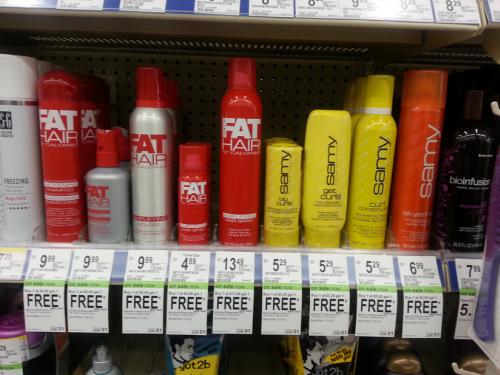 Sammy Fat Hair Products