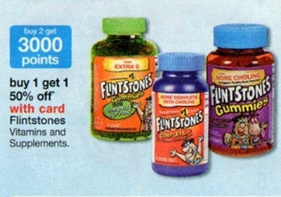 Flintstones Vitamins Sale (Wags 4-28)