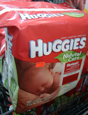 Huggies Natural Care Wipes (Wags Clearance)