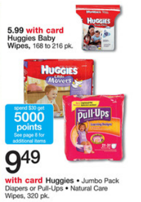Huggies Sale (Wags 4-21)