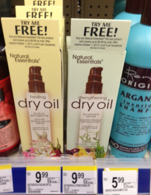 Natural Essentials Dry Oil (Wags)