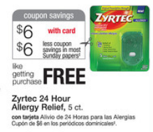 zyrtec mobile coupon