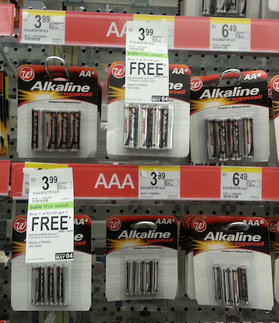 Walgreens Batteries