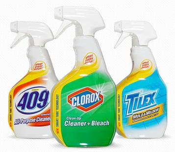 Clorox Clean-Up, Formula 409, Tilex