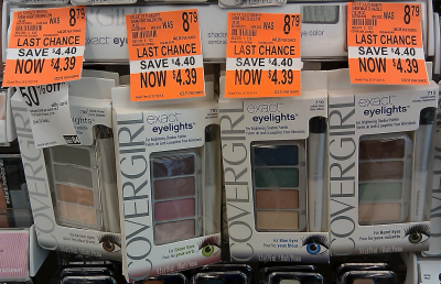 CoverGirl Eyeshadow (Wags Clearance)