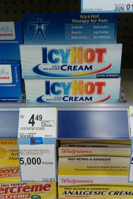 IcyHot Cream Sale (Wags 5-5)