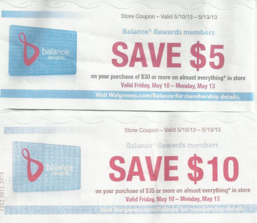 Stock Up Coupons (Wags)