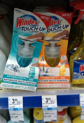 Windex Touch-Up Cleaner Sale (Wags 5-5)