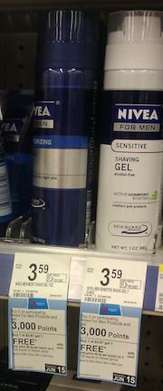 Nivea Nivea For Men Shave Gel Moneymaker at Walgreens