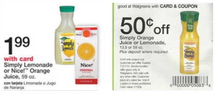 Simply Lemonade Just 74¢ at W...