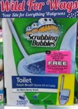 Scrubbing Bubbles with Peelie Coupon (Wags)
