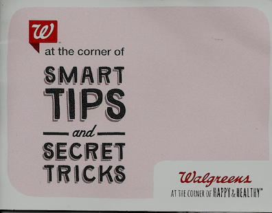 Walgreens Coupon Book