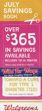 Walgreens July Coupon Book 2013