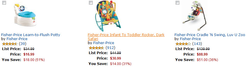 Amazon DOD Fisher-Price Sale