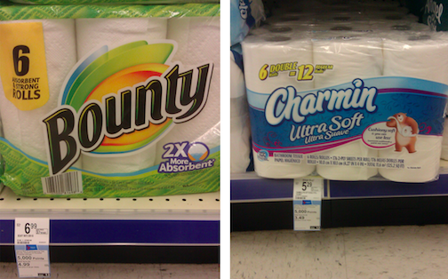 Bounty Amp Charmin Deal Idea As Low As 2 84 Each