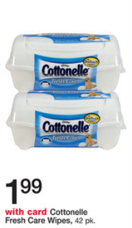 Cottonelle Fresh Care Wipes Sale (Wags 7-21)