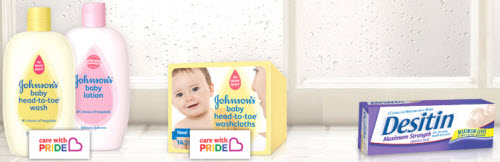 Desitin and Johnson's Baby Products