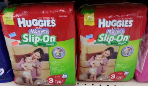 Huggies Little Movers Slip-On (Wags Clearance)