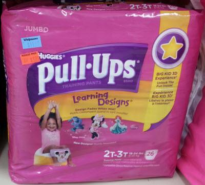 Huggies Pull-Ups (Wags Clearance)