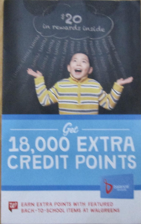 Walgreens Coupon Booklet Extra Credit