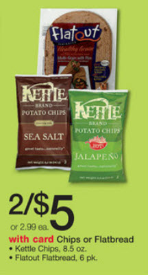 Kettle Brand Chips Sale (Wags 8-25)