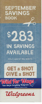 Walgreens September Coupon Book 2013