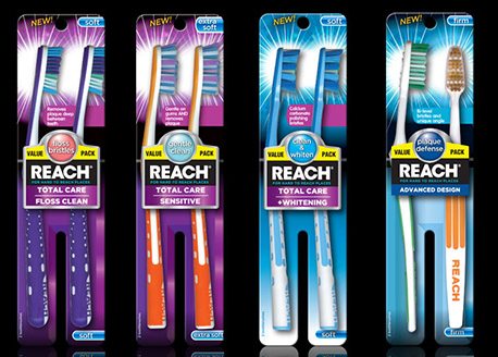 New Reach Brand Toothbrush Coupons!